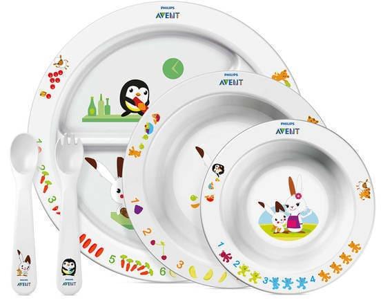 Philips Avent SCF716/00 Σετ Φαγητού για Νήπια 6m+, 5 τεμάχια