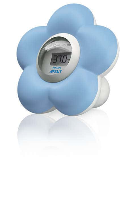 Philips Avent SCH550/20 Ψηφιακό Θερμόμετρο για το Μπάνιο & το Δωμάτιο, 1 τεμάχιο