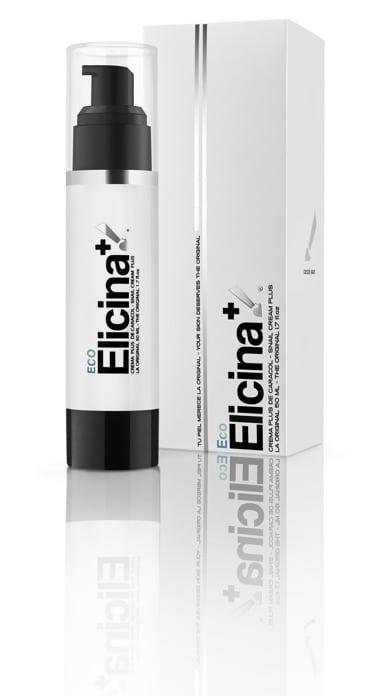 Elicina Eco Cream Plus Βιολογική Κρέμα από Εκχύλισμα Σαλιγκαριών Σχεδιασμένη για το Ξηρό & Ευαίσθητο Δέρμα, 50ml