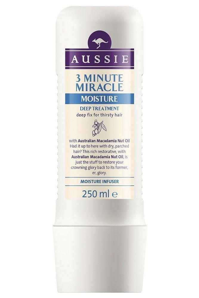 Aussie 3 Minute Miracle Moist Βαθιά Θεραπεία 3' για Ξηρά Μαλλιά, 250ml