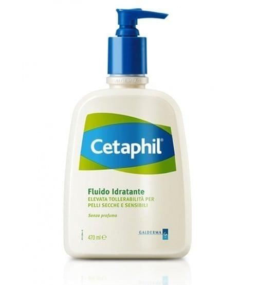 Cetaphil Fluido Idratante Ενυδατική Λοσιόν για την Περιποίηση του Κανονικού & Ξηρού Δέρματος, 470ml