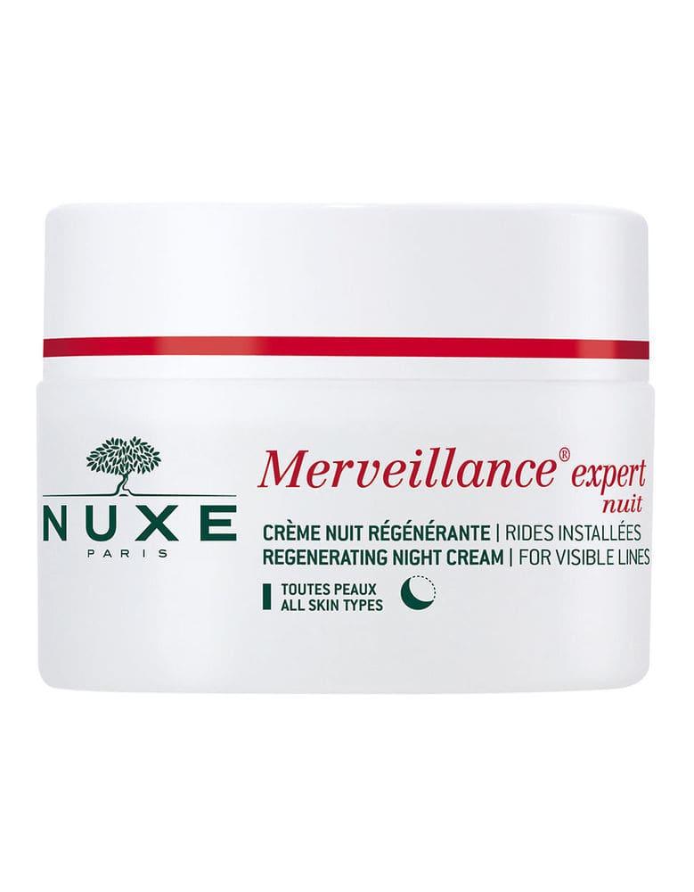 Nuxe Merveillance Expert Creme Nuit Περιποίηση Προσώπου Νύχτας για την Αντιμετώπιση των Ρυτίδων & τη Σύσφιξη της Επιδερμίδας, 50ml