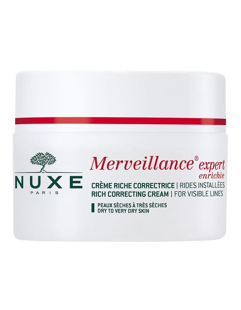 Nuxe Merveillance Expert Creme Enrichie Περιποίηση Προσώπου για την Αντιμετώπιση των Ρυτίδων & τη Σύσφιξη της Επιδερμίδας, 50ml