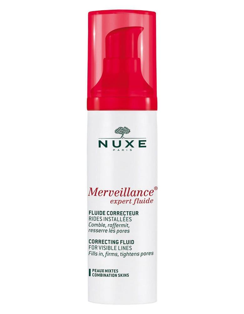 Nuxe Merveillance Expert Fluide Κρέμα Ελαφριάς Υφής για Ορατές Ρυτίδες, Κατάλληλη για Μικτές Επιδερμίδες, 50ml