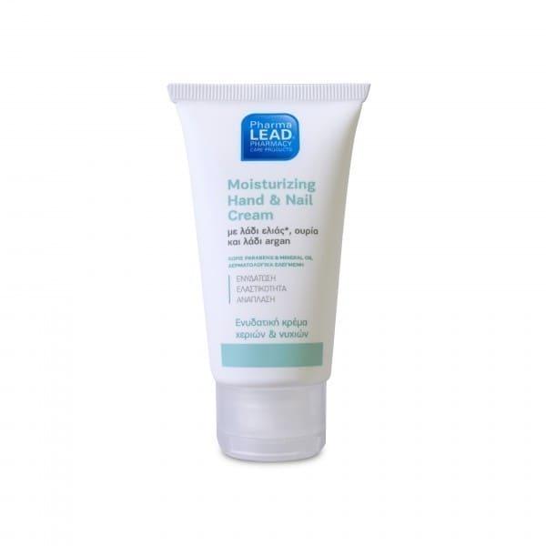 Pharmalead Moisturizing Hand & Nail Cream Ενυδατική Κρέμα Χεριών & Νυχιών, 50ml