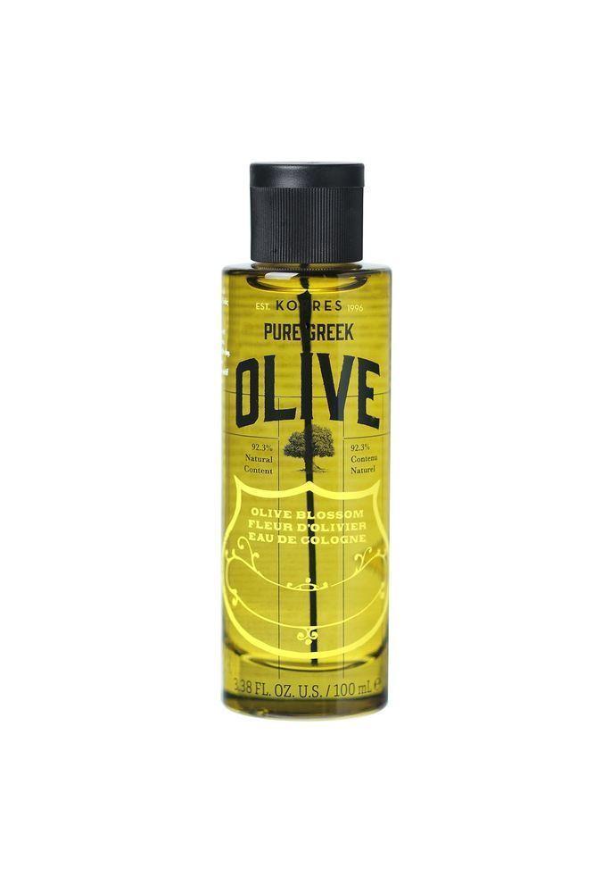 Korres Pure Greek Olive Eau De Cologne Olive Blossom, 100ml