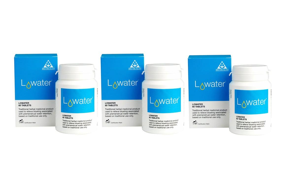 3 x Power Health Lowater Ειδική φόρμουλα 4 φυτών με ήπια διουρητική δράση, 3 x 30 tabs