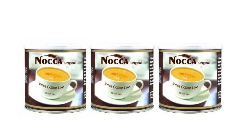 3 x Power Health Nocca Φυσικό Αναπλήρωμα Καφέ, 3 x 125 gr