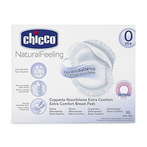 Chicco Επιθέματα Στήθους Αντιβακτηριακά, 30 τμχ