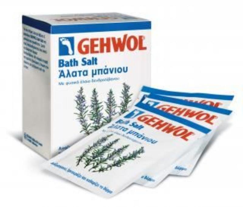 Gehwol Bath Salt Αναζωογονητικά Άλατα Μπάνιου για πόδια & σώμα,10x25gr