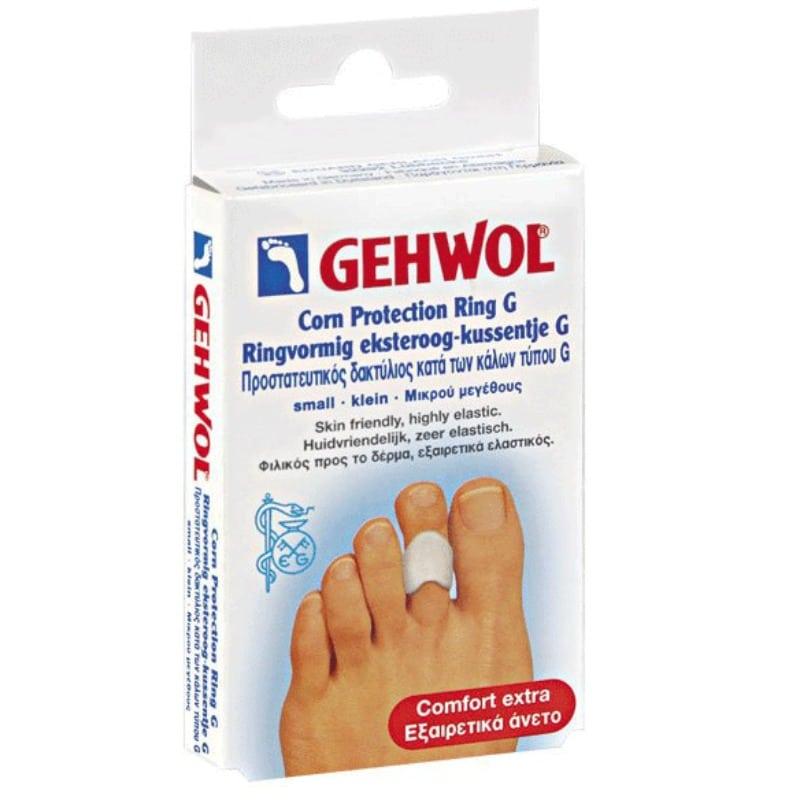 Gehwol Correction Ring G Διορθωτικός δακτύλιος τύπου G, Αντιπιεστικό & προστατευτικό επικάλυμμα πολυμερούς γέλης, Ανακουφίζει ενοχλήσεις από σφυροδακτυλία,Οδηγεί το δάκτυλο στην κανονική του θέση,Αποφορτίζει την άρθρωση,Περιορίζει τη δημιουργία κάλων,3τεμ