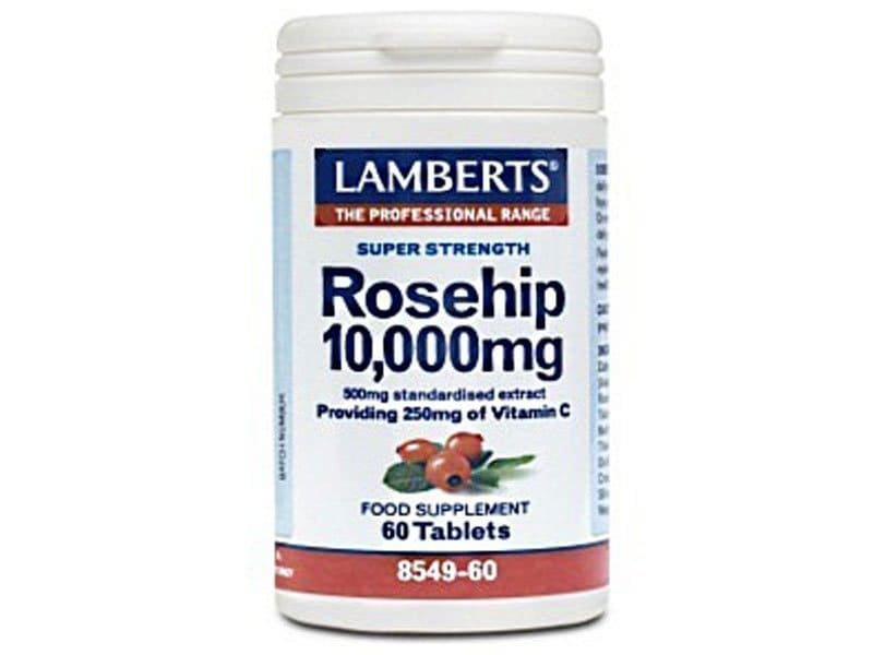 Lamberts Vit C Rose hip 10000μg 60tabs