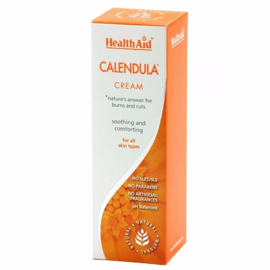 Health Aid Calendula Cream Κρέμα Καλέντουλας, 75ml
