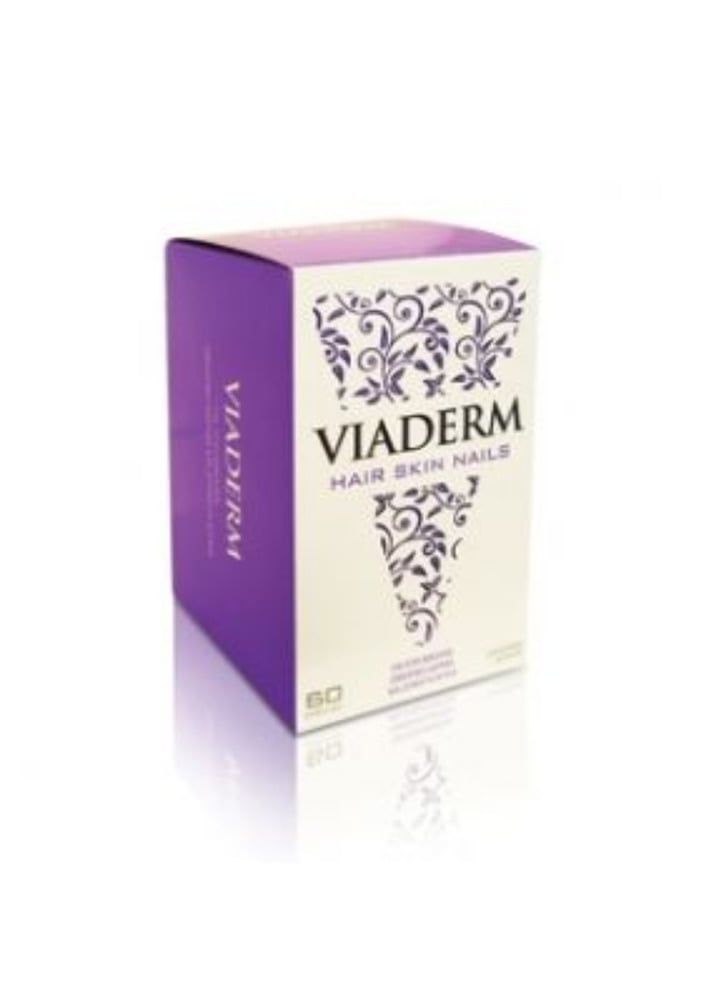 Viaderm Hair Skin Nails x 60 Κάψουλες Για υγιη? μαλλια?, ο?μορφο δε?ρμα και δυνατα? νυ?χια.