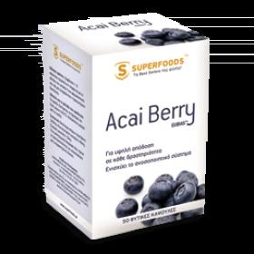 SuperFoods Acai Berry EUBIAS, 50 veg. caps