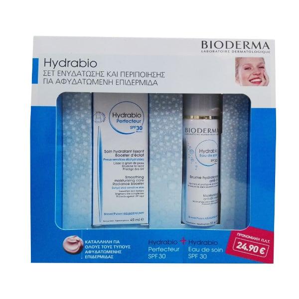Bioderma OFFER PACK with Hydrabio Perfecteur SPF30, 40ml & Hydrabio Moisturizing Anti-UV Mist SPF30, 50ml