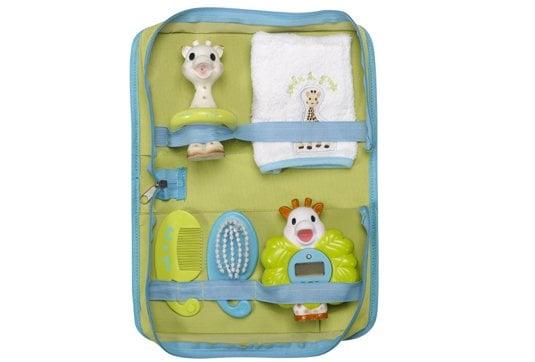 Sophie la Girafe Bath Set 523511 Τσάντα με τα απαραίτητα για το μπάνιο, 5 τεμάχια