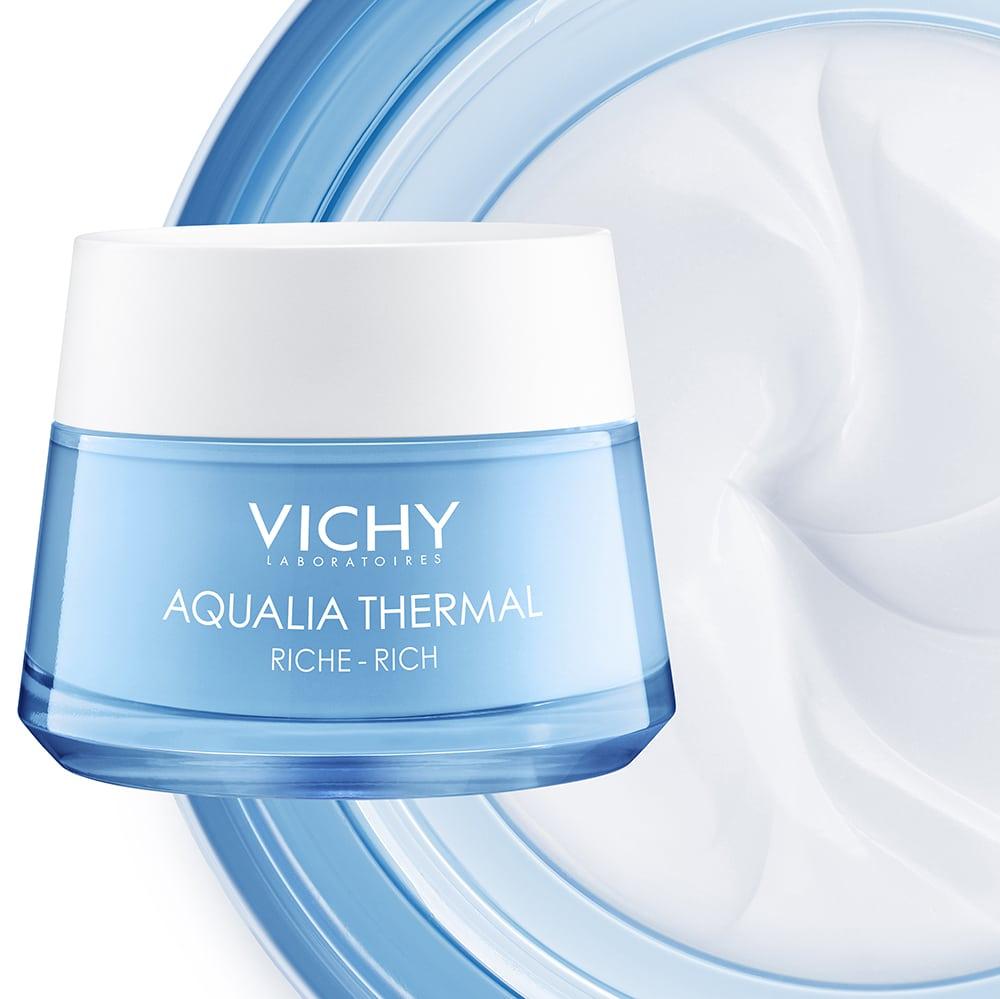 Vichy Promo Aqualia Thermal Rich Πλούσια Κρέμα για 48ωρη Eνυδάτωση για Ξηρή / Πολύ Ξηρή Επιδερμίδα, 50ml & Δώρο Mineral Probiotic Booster Ανάπλασης & Επανόρθωσης, 5ml & Νεσεσέρ, 1τεμ-0