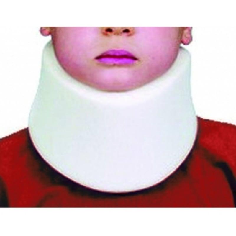 ADCO Pediatric Αυχενικό Κολλάρο Παιδικό (01110) Κατασκευασμένο από μαλακό αφρώδες υλικό, επενδυμένο με υποαλλεργικό ύφασμα, ανατομική κατασκευή & κλείσιμο με Velcro, Κατάλληλο για αυχενικό σύνδρομο & άλλες ήπιες κακώσεις του αυχένα, 1 τεμάχιο, 1 μέγεθος