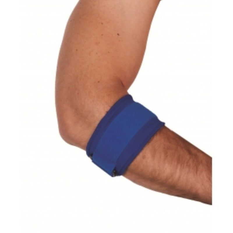 ADCO Δέστρα Επικονδυλίτιδας Neoprene 2mm (03106) με εσωτερική βαμβακερή επένδυση, Ειδικό μαξιλαράκι πίεσης & ιμάντας που ρυθμίζει την πίεση στους κονδύλους του αγκώνα, Κατάλληλη για πρόληψη & θεραπεία επικονδυλίτιδας, Ένα μέγεθος, 1 τεμάχιο