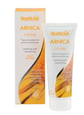 Health Aid Arnica Cream Κρέμα Άρνικας, 75ml