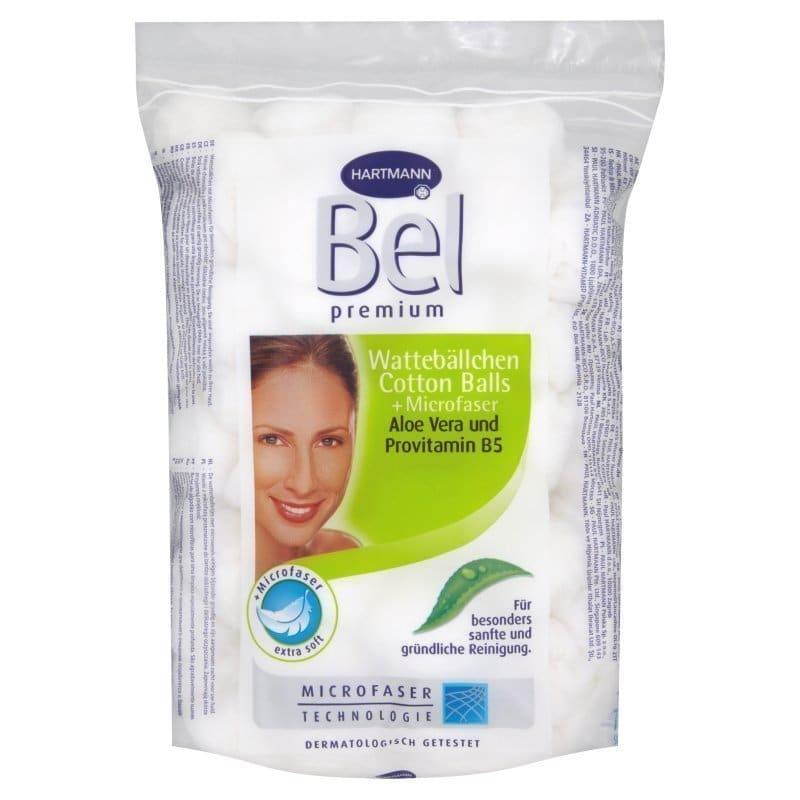 Hartmann Bel Premium, Ροδέλες καθαρισμού προσώπου με μικροίνες & βαμβάκι αλόης και προβιταμίνης Β5, για ιδιαίτερα σχολαστικό καθαρισμό (918554), 45 τμχ
