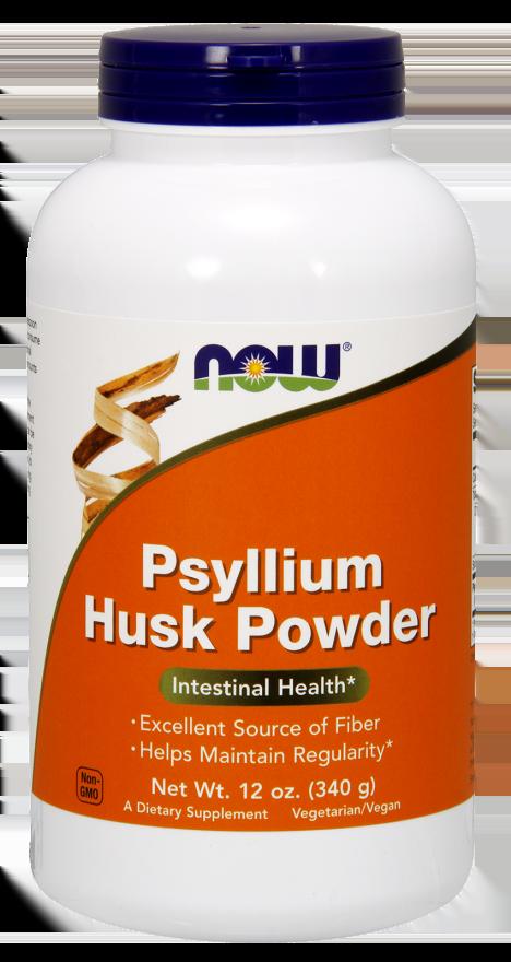 Now Psyllium Husk Powder Συμπλήρωμα Ψύλλιου σε Σκόνη, 340gr