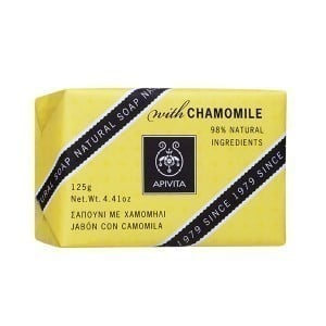 APIVITA Natural Soap with Chamomile, 125gr