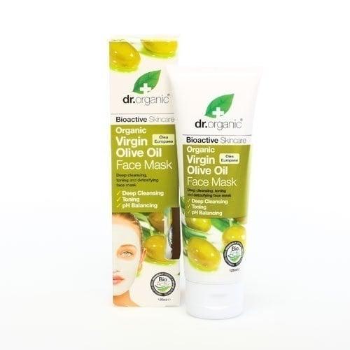 Dr. Organic Virgin Olive Oil Face Mask, 125 ml