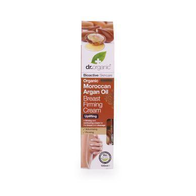 Dr. Organic Moroccan Argan Oil Breast Firming Cream, 100 ml