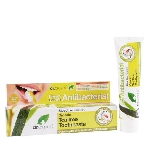 Dr. Organic Tea Tree Toothpaste (Antibacterial), 100 ml