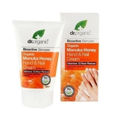 Dr. Organic Manuka Honey Hand and Nail Cream, 125 ml