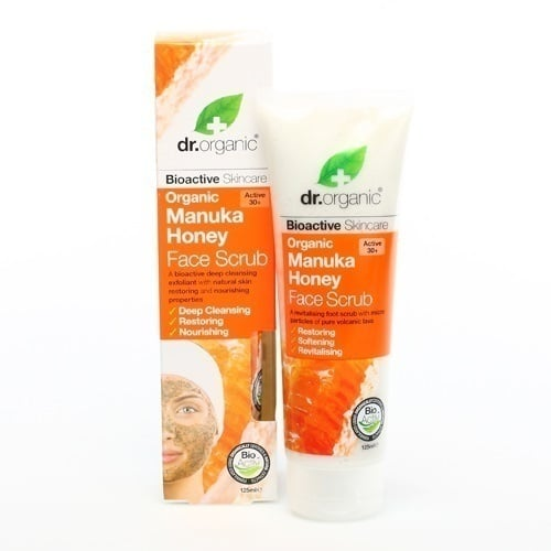 Dr. Organic Manuka Honey Face Scrub, 125 ml