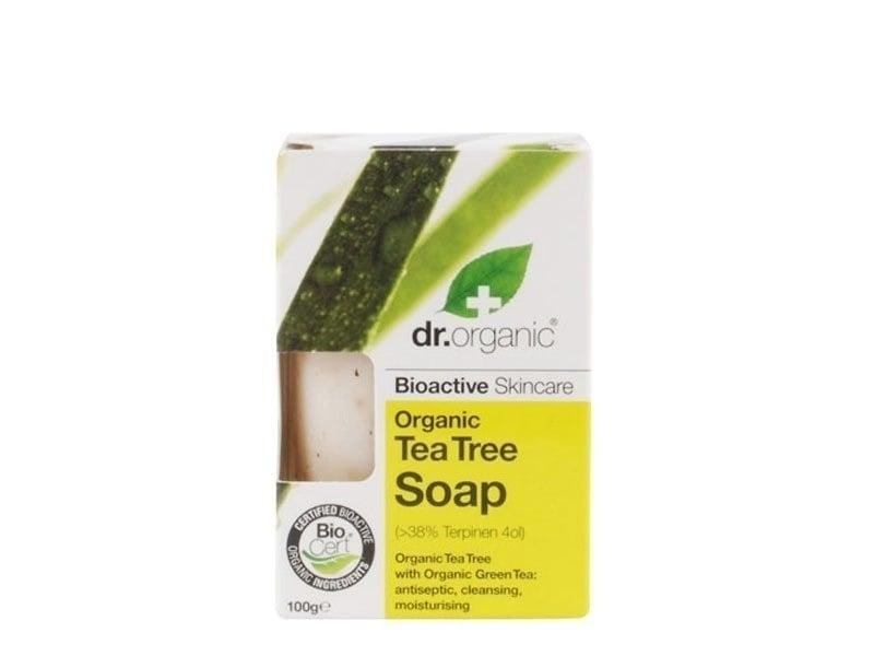 Dr. Organic Tea Tree Soap, 100 gr