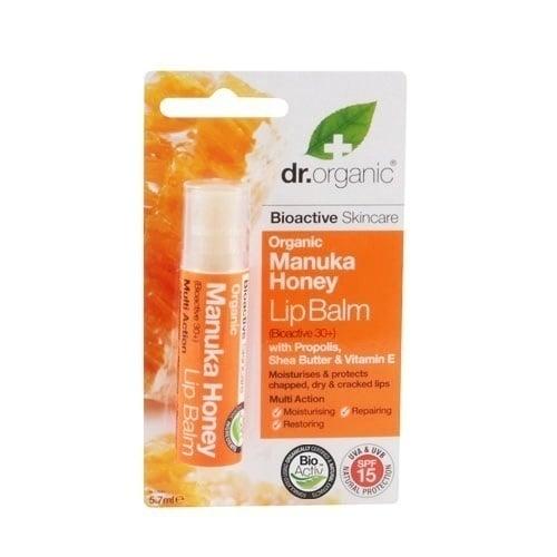 Dr. Organic Manuka Honey Lip Balm, 5.7ml
