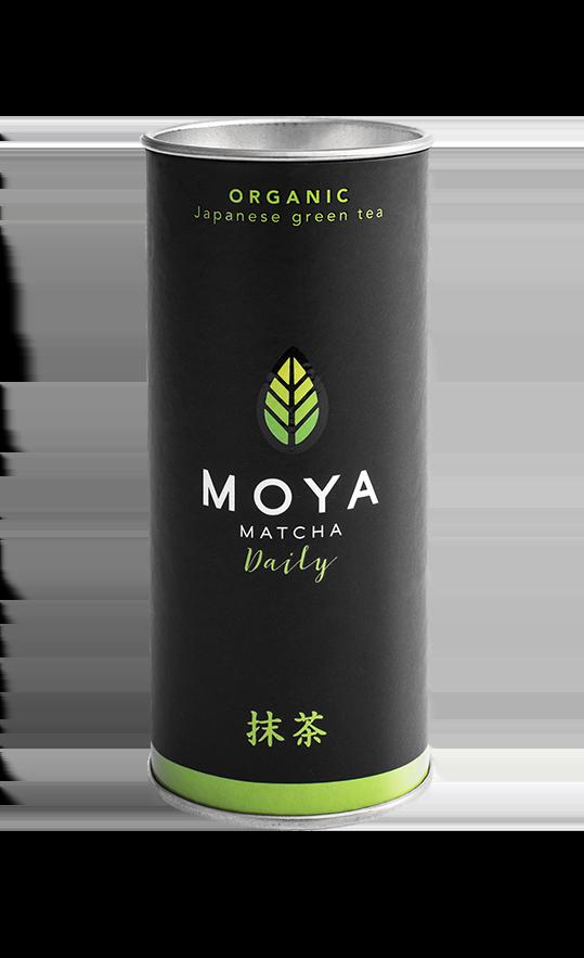 Vican Moya Matcha Organic Japanese Green Tea Daily Yψηλής Ποιότητας Βιολογικό Τσάι, 30gr