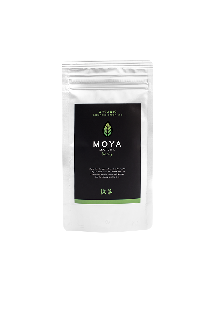 Vican Moya Matcha Organic Japanese Green Tea Daily Yψηλής Ποιότητας Βιολογικό Τσάι, 50gr
