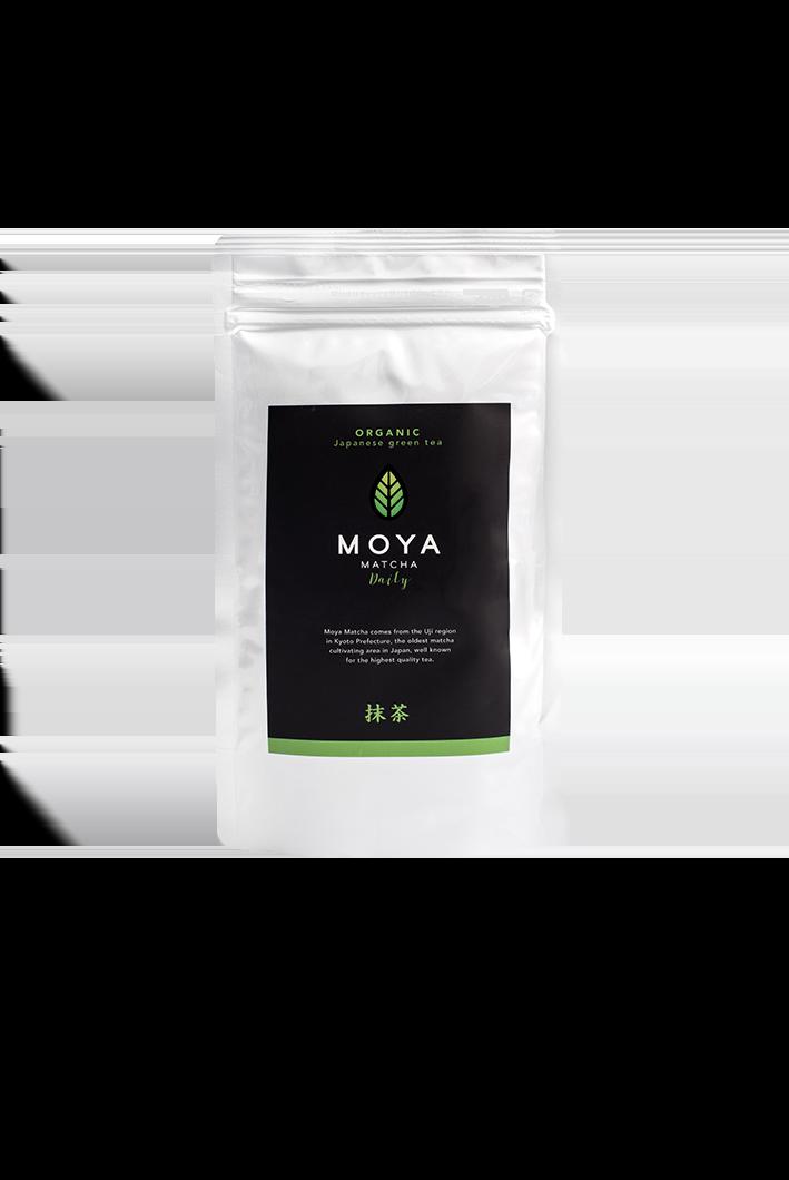 Vican Moya Matcha Organic Japanese Green Tea Daily Yψηλής Ποιότητας Βιολογικό Τσάι, 100gr