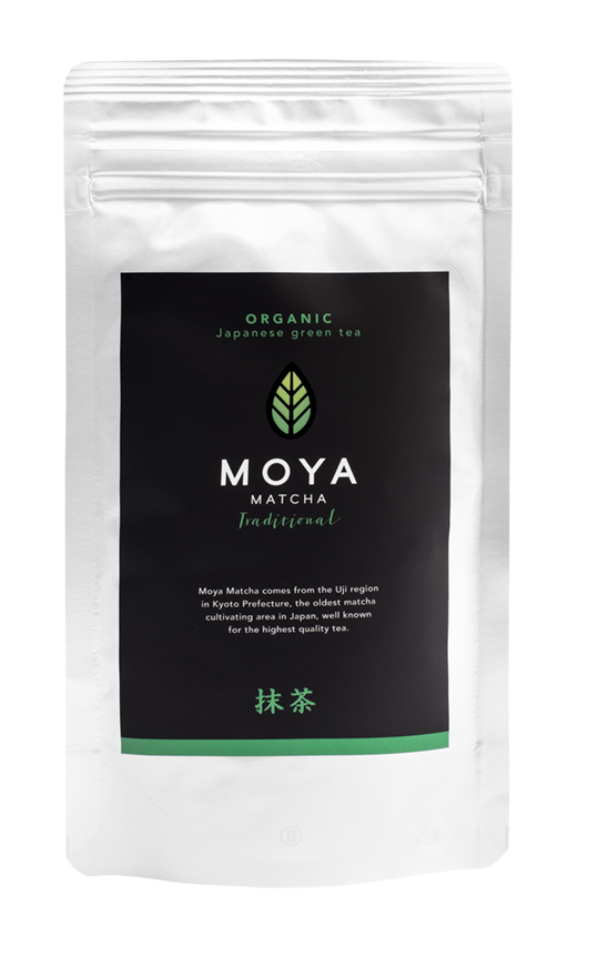 Vican Moya Matcha Organic Japanese Green Tea Traditional Yψηλής Ποιότητας Βιολογικό Τσάι, 50gr