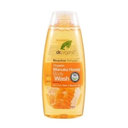Dr. Organic Manuka Honey Body Wash, 250 ml
