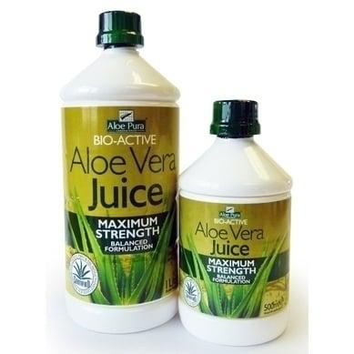 Optima Aloe Vera Juice Maximum Strength 500 ml