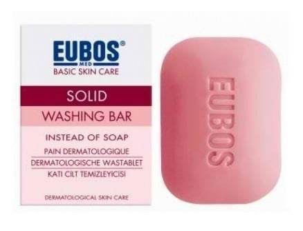 Eubos Solid Washing Bar Red,125gr