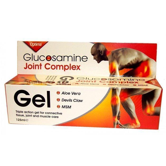 Optima Glucosamine Joint Complex Gel, 125 ml