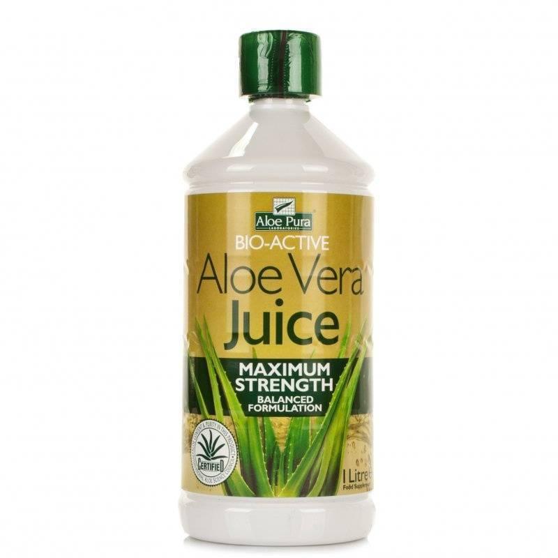 Optima Aloe Vera Juice Maximum Strength 1000 ml