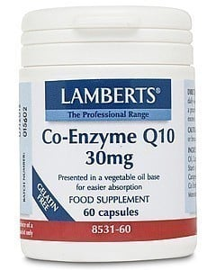 LAMBERTS CO-ENZYME Q10 30MG, Συνένζυμο Q10 , 60 caps
