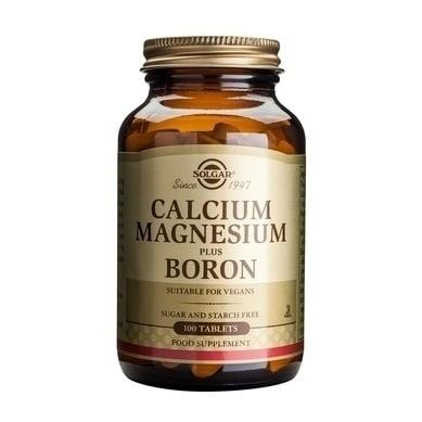 Solgar Calcium Magnesium plus Boron,100tabs