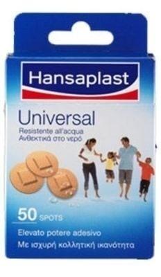 Hansaplast Universal Επίθεμα Ανθεκτικό στο Νερό 50 spots