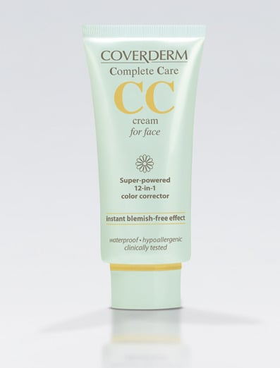 Coverderm Complete Care CC cream for face Spf25 Soft Brown 40ml.