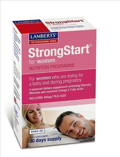 LAMBERTS STRONGSTART FOR WOMEN, 30 caps - 30 tabs