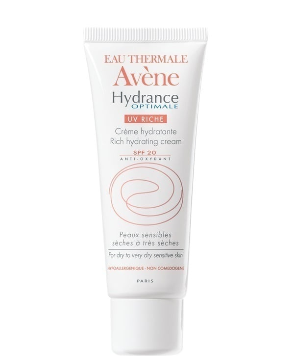 Avene Eau Thermale Hydrance Optimale UV Riche SPF20 Ενυδατική Κρέμα Προσώπου, 40 ml